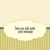 Vintage background with sunbeams Royalty Free Stock Photography