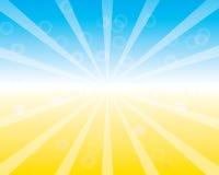 Vintage Background with Sunrise Shining. Royalty Free Stock Image