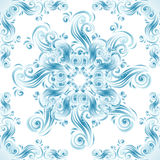 Vintage background with swirls ornaments Royalty Free Stock Photos