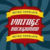 Vintage Background Template Royalty Free Stock Images