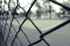 Vintage background of tennis and basketball court Royalty Free Stock Image