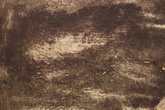 Vintage background texture. Of a brown leather Stock Image