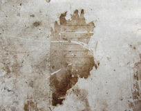 Vintage background. texture of old paper, dirty brown. Royalty Free Stock Photos