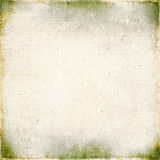 Vintage background on textured fabric Stock Images