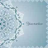 Vintage Background Traditional Ottoman Motifs. Royalty Free Stock Image