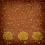 Vintage background - trees abstraction Stock Photo