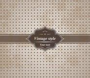 Vintage background- vector Stock Images