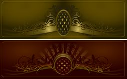 Vintage background vector Royalty Free Stock Images