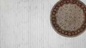 Vintage background with white wooden floor Royalty Free Stock Images