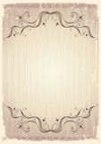 Vintage Background With Vignettes. Royalty Free Stock Images