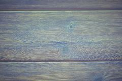 Vintage background of wooden boards passirovanny blue, green and other colors Stock Image
