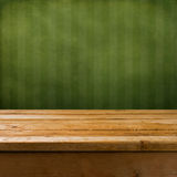 Vintage background with wooden table Royalty Free Stock Photo