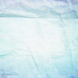 Blue paper. Retro style stock illustration