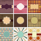 Vintage backgrounds Stock Image