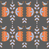 Vintage backgrounds, ethnic ornament, seamless pattern. Stock Photography