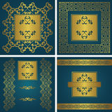 Vintage backgrounds with a frames Stock Photo