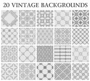 Vintage backgrounds. Seamless pattern ornament Royalty Free Stock Images