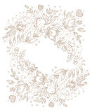 Vintage backgroung in vector. Royalty Free Stock Images