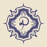 Vintage badge. Logo template. Design elements Vector illustration Stock Photography