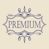 Vintage badge. Logo template. Design elements Vector illustration Stock Photos