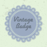 Vintage badge Stock Photos