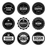 VINTAGE BADGES SET vector illustration