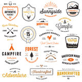 Vintage badges & labels Royalty Free Stock Image