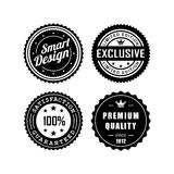 Vintage badges 3 Stock Photography