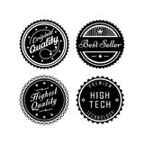Vintage badges 2 Stock Images