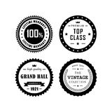 Vintage badges 4 Royalty Free Stock Image