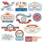 Vintage-badges4 Стоковая Фотография RF