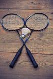 Vintage badminton racquet Stock Images