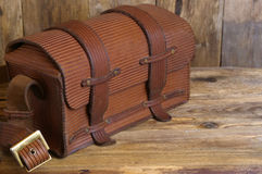 The vintage bag Stock Images