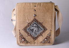 Vintage Bag. Retro bags Made by hand and manufactured in Thailand Stock Image