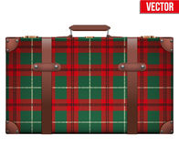 Vintage baggage suitcase for travel Royalty Free Stock Photo