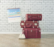 Vintage baggage Stock Photography
