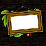 Vintage baguette frame Royalty Free Stock Images