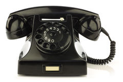 Vintage bakelite telephone Royalty Free Stock Photography