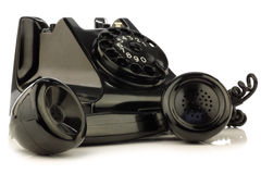 Vintage bakelite telephone Royalty Free Stock Photos