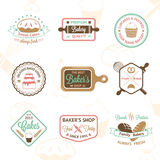Vintage bakery badges, labels and logos. Vector illustration for your design vector illustration