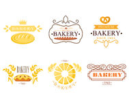 Vintage Bakery Labels Royalty Free Stock Photo