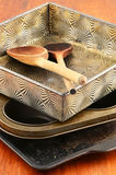 Vintage bakeware Stock Photo