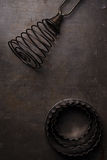 Vintage  Baking Tin cutters Royalty Free Stock Images