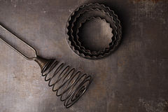 Vintage  Baking Tin cutters Stock Images