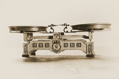 Vintage Balance Scale Royalty Free Stock Images