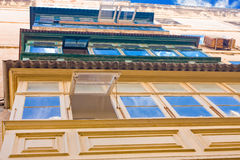 Vintage balconies Royalty Free Stock Photo