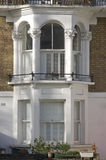 Vintage balcony at Islington London UK Royalty Free Stock Image
