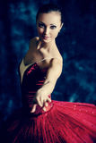 Vintage ballet Stock Images