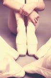 Vintage ballet class Stock Photography