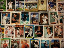 Vintage Baltimore Orioles Stars and Legends Baseball Trading Cards